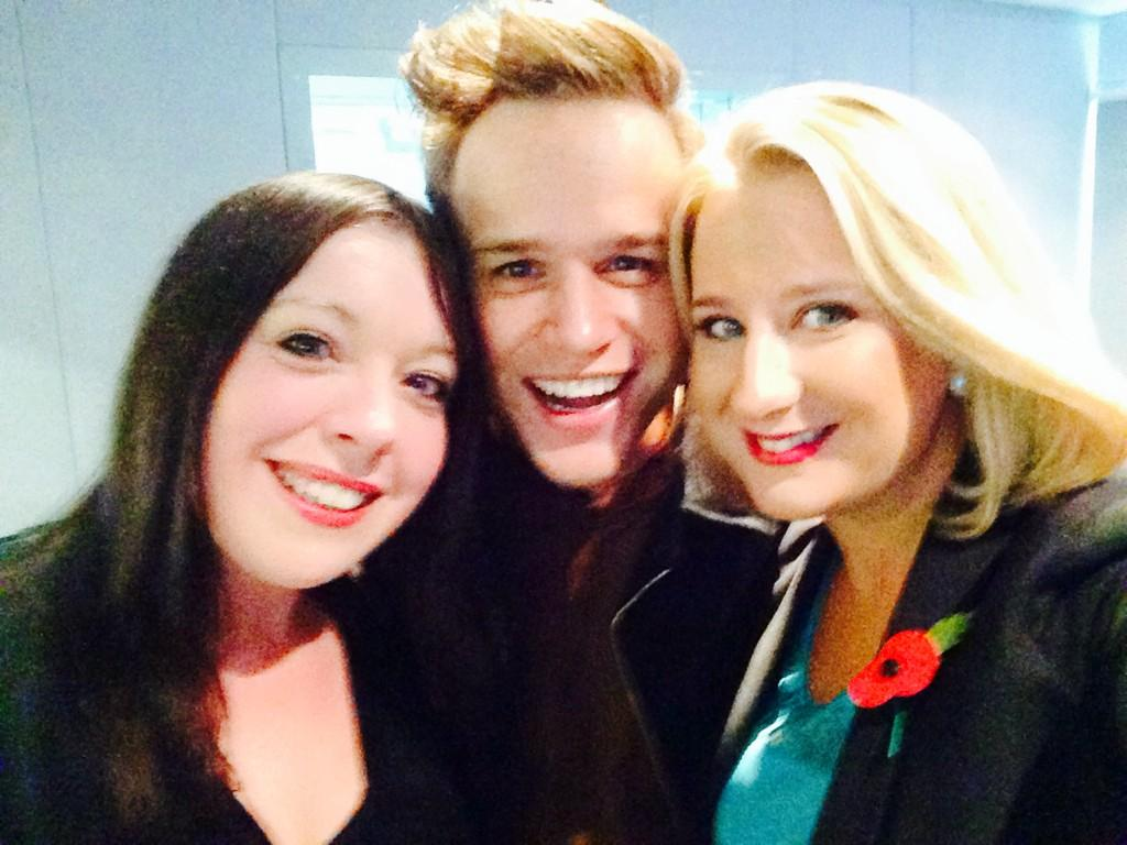 RT @RJSweeneyITV: My @ollyofficial interview - new album, Robbie Williams and The X Factor chat! http://t.co/fYqDPIgznM @ITVtynetees http:/…