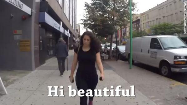 Video ragazza a New York