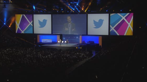 Applause&chatter surround announcement of landmark partnership: #IBMandTwitter at #IBMinsight: http://t.co/wpRqPoe4dX http://t.co/3iUwQVABG7