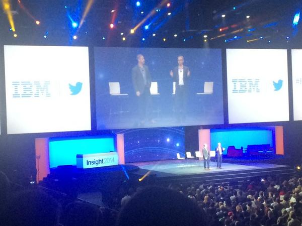 Twitter + IBM = Sant #IBMandTwitter #IBMInsight #ibmnorge http://t.co/HGzChDrxd4
