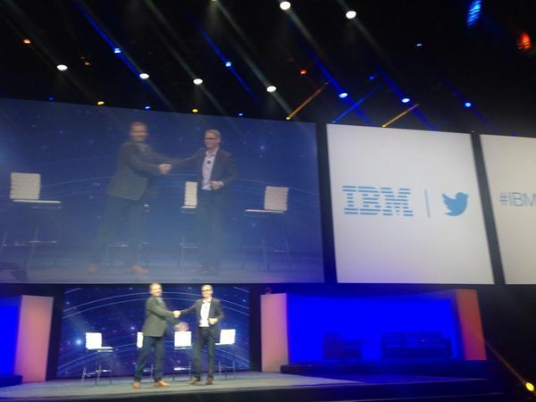 Twitter and IBM announce landmark partnership t.co/IBM   #IBMInsight #IBMandTwitter http://t.co/WwXflLWWdf
