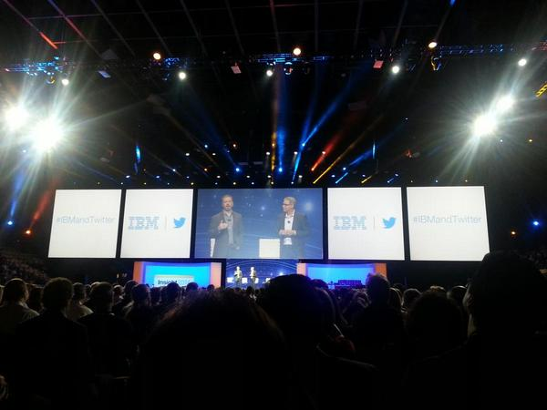 IBM and Twitter partnering in a match made in data heaven. #IBMandTwitter #IBMInsight http://t.co/6hT63zrEb8