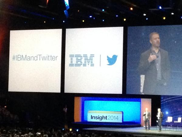 """""""WOW! @KnowledgeKPI: #ibmandtwitter just announced #ibminsight 2014 http://t.co/te3Cu1yy26"""""""