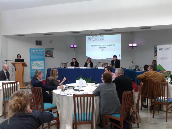 #MedIAMER consults stakeholders on pressures of economicactivities on maritime environment #AdriaticIonian #MarInAMed http://t.co/egzwaiQWDQ
