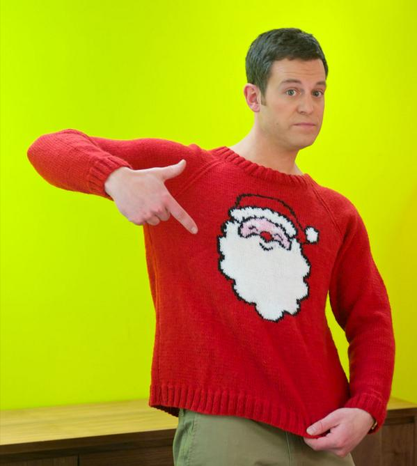 Lets Knit Magazine On Twitter Download This Free Christmas Jumper