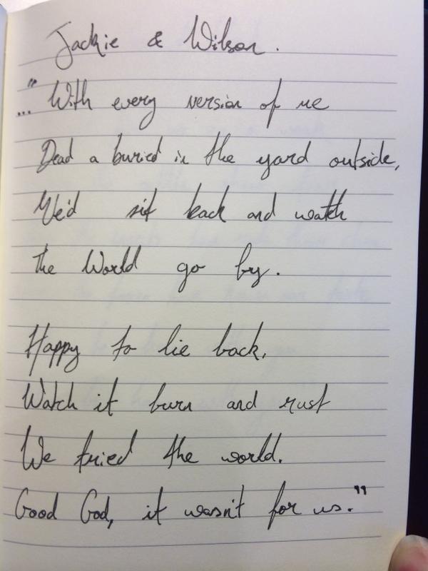 Lyric lyrics for : Hozier on Twitter: