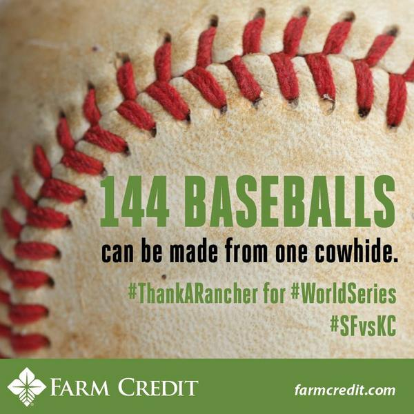 Thank a rancher for #game7 #MLB #WorldSeries #SFvsKC http://t.co/VIcxWJnCkN