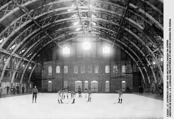 The first organized game of #hockey took place in #Montréal in 1875. #CanadasGame http://t.co/PPwxhNxALE