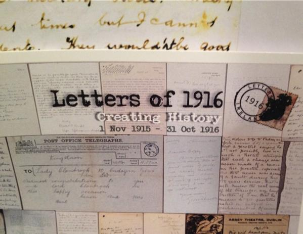 Thumbnail for Letters of 1916 project: feedback, comments, endorsements on Twitter since launch in 2013