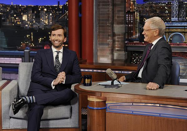 David Tennant - The Late Show With David Letterman
