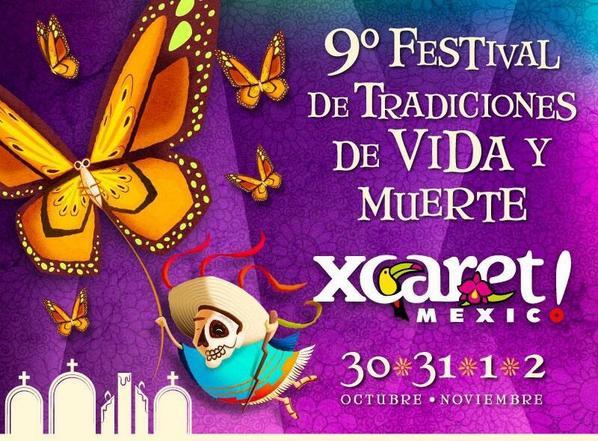 Gánate pase doble   #FestivalDeVidaYMuerte  el Retweet Numero 20 de esta publicación se lo gana! @XcaretPark 3,2,1.. http://t.co/KMuZj4gunC