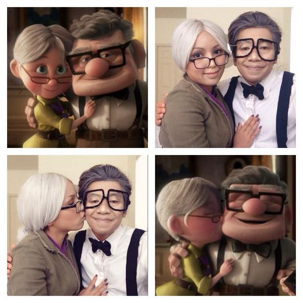 Vitri Nurmalasari On Twitter Tamangphan Our Costume This Year Ellie And Carl From Up Http T Co Bertgksnnr