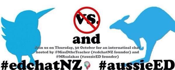 Will you join #edchatnz and #aussieED for their chat on Collaboration? Be ready to share and learn!!! Spread the word http://t.co/02oRYW2BCA