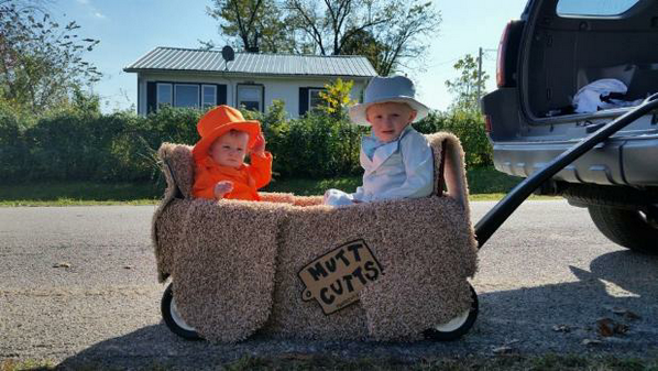 @joshgroban Seriously my cousin's kids have the best costume http://t.co/97EMjWjBt3