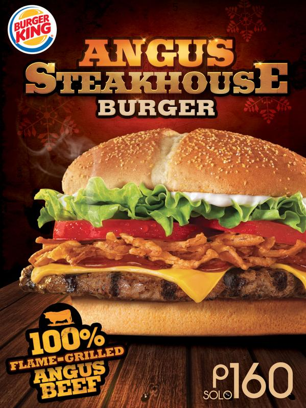 Burger King Phils On Twitter Indulge In 100 Flame Grilled Angus Beef With Kings Classic Steakhouse Tco SDGmLbzrcm