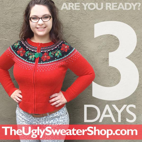 Ugly Christmas sweaters are coming to http://t.co/G3X19zjMan... are you ready?