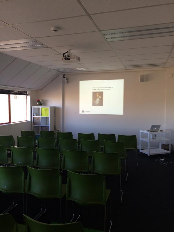 Ready for #eduignitewelly. Just need the people now :-) #cenz14 http://t.co/szcahfiRyn