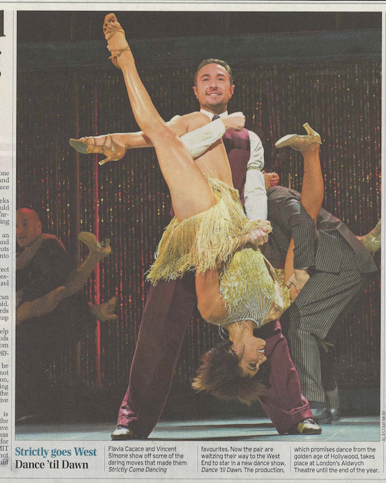 RT @Libby_Brodie: @SaraV1308 @TheAldwych In the papers - here's a clip of @vincentsimone @FlaviaCacace @VFDanceTilDawn in #Telegraph http:/…