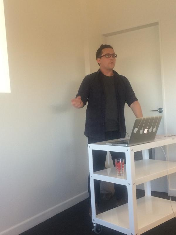 @hunch_box talking with his hands like all teachers ;) #eduignitewelly http://t.co/oUV8dk8IRi