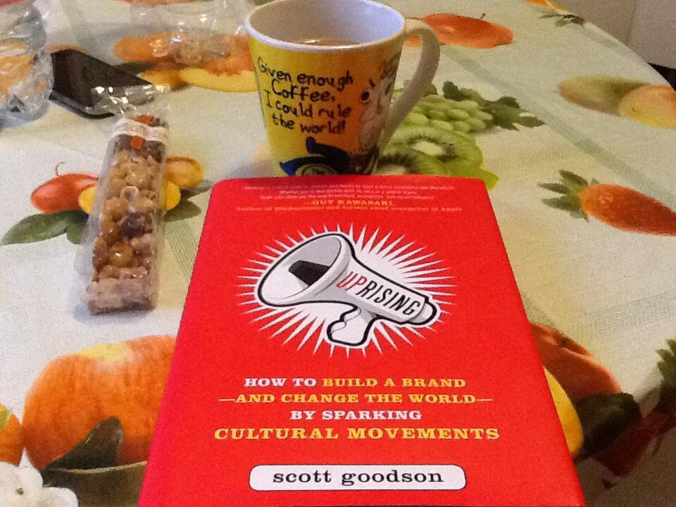 """RT @scottfrog: """"@DrJesuKaba: @scottfrog I am having an Uprising breakfast in Milan! :D http://t.co/98bv5Bw5SP"""" delicious and brilliant - th…"""