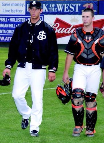 Baby boys! RT @JoeRitzo Bumgarner & Posey's 1st game together as pros: 4/10/09 as #SJGiants. http://t.co/xqKjsCWu4M