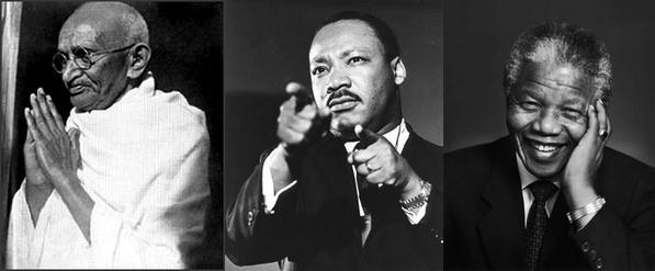 今天在立法會辯論上,建制派大量引用甘地、馬丁路德金和曼德拉,想誣衊佔領運動不和平,這三位已故公民抗命的人權英雄,知到這些反對民主、擁護共產主義極權政權的人抽他們的水,會怎樣想。共產黨下的香港變成如此指鹿為馬,黑白不分,怎不令人心寒! http://t.co/KFKyhU6B7E