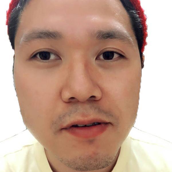 ホームレス小谷さんの顔アップ