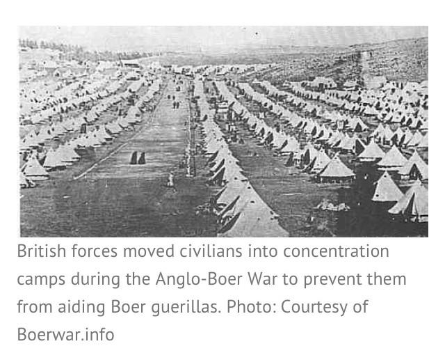 "joe.m on Twitter: ""@InjusticeFacts British invented Concentration Camps  during Boer War http://t.co/VXmO9DtCNA"""