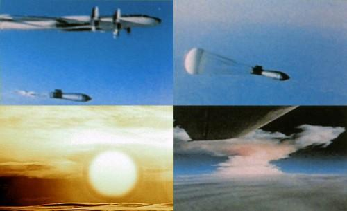 Today in 1961: 50mt Tsar Bomba, largest-ever #nuclear test, produces 5.0 mag shockwave http://t.co/c0b9SGxuya http://t.co/lACK77Mmqx