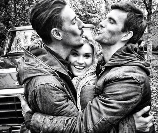 I'll be live tweeting #Haven5 this Friday at 7/6c on @Syfy and I'll tell you all about how this photo happened ;) http://t.co/ZEwPttObts