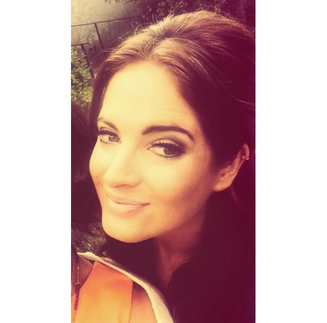 RT @MissCharLambert: Make-up by me for the gorgeous @BinkyFelstead ! #throwbackthursday http://t.co/yG8MTQaqIA