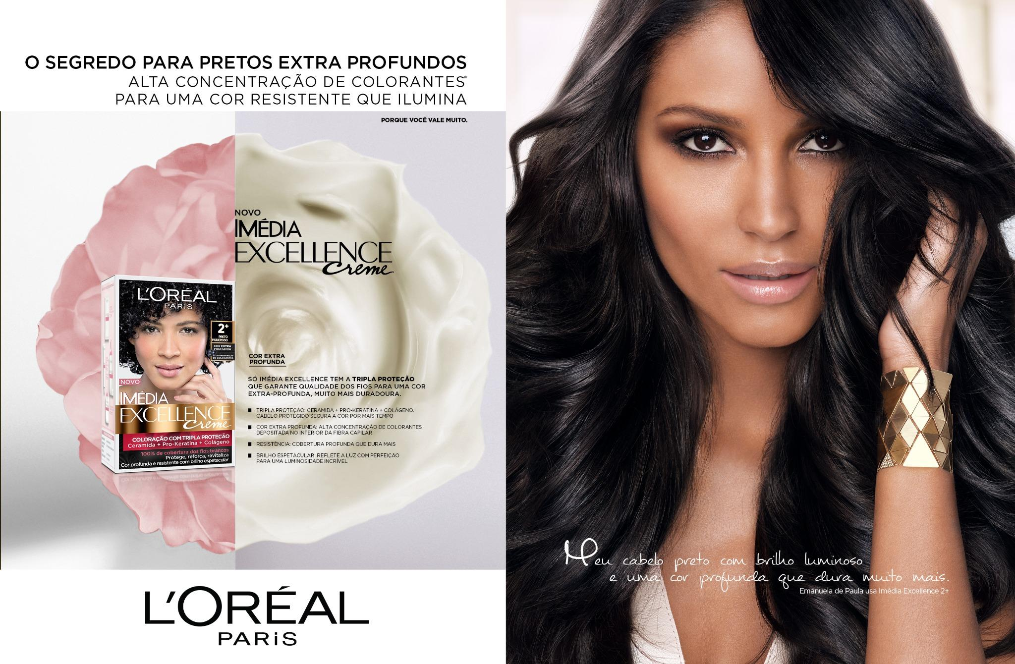 RT @TheSocietyNYC: #campaign  @EmanuelaDePaula is a remarkable beauty in @LorealParisBR's new #Excellence ads! http://t.co/wsXCMZciPM
