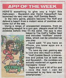 Hey @TheSunNewspaper thanks for naming my new app #HoffZombieBeach app of the week!  So cool! http://t.co/hrU7BZRgX0