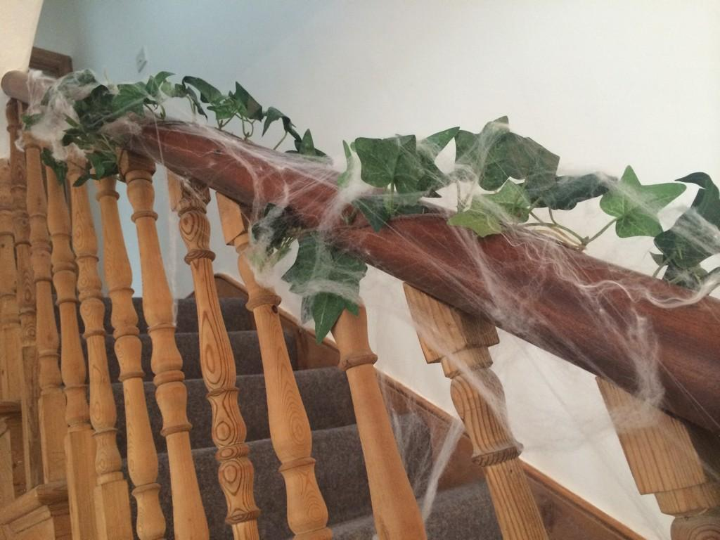 My bannister.....really should get the old duster out! http://t.co/MKuEUb5CDN