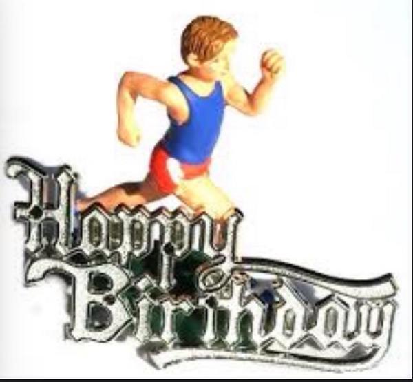 С днем рождения атлет картинка