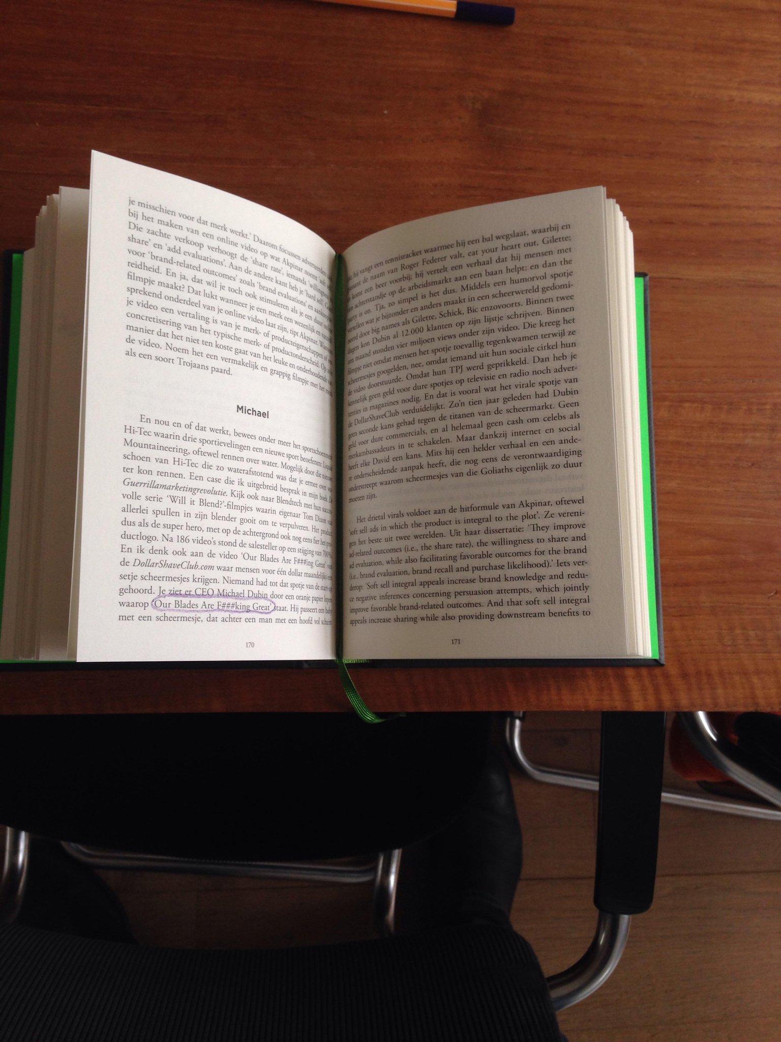 RT @iwanhoe: Zo, tijdens de boterham nog net even tijd gevonden voor bijbelstudie. #contentbijbel http://t.co/UuYauBftLX