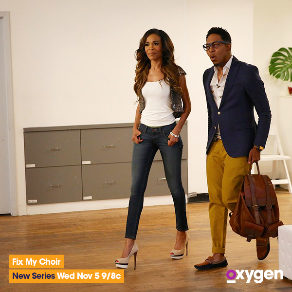 RT @oxygen: Help is on the way! #FixMyChoir is comin' at ya Weds. at 10/9c. Meet the cast: http://t.co/ehmHnnBdhs @RealMichelleW http://t.c…