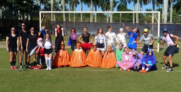 nsu sharks athletics on twitter womens soccer dons halloween costumes before wednesday practice httptcoymtx8wrzrw httptcokbfuafvgxp
