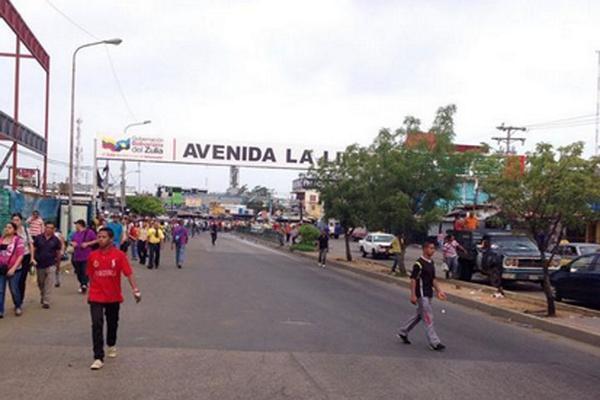 Choferes protestan en La Curva de Molina