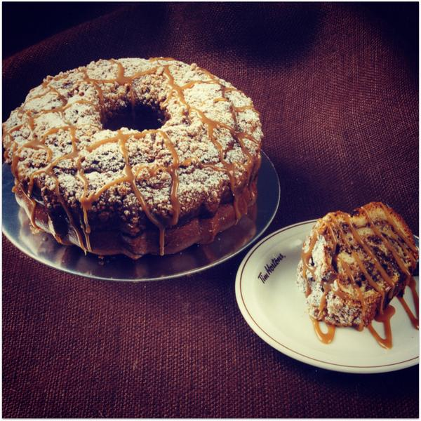 Tim Hortons Coffee Cake Muffin