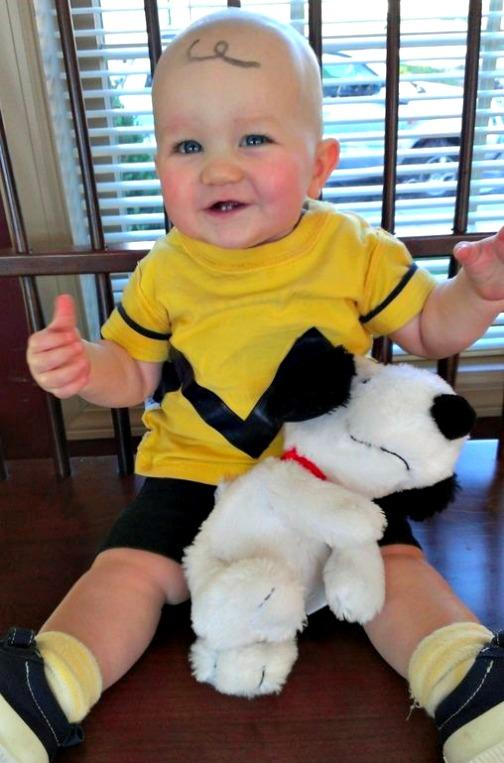 Halloween Costumes on Twitter  If youu0027re going to dress your baby as Charlie Brown donu0027t forget the head swirl!  sc 1 st  Twitter & Halloween Costumes on Twitter: