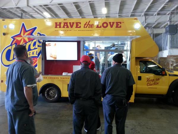 Steven Tully On Twitter Churchs Chicken Food Truck At Coca Cola