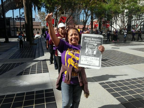 San Diego janitors say it's time to #RaiseAmerica http://t.co/DHDXdWufhw