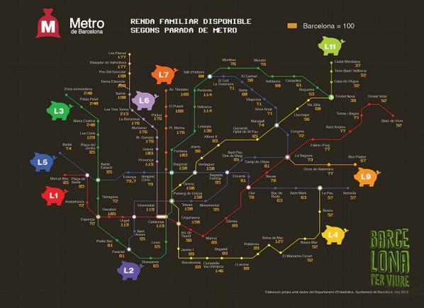 Este Es El Mapa Del Metro De Barcelona Que Te Anima A Perder Calorias