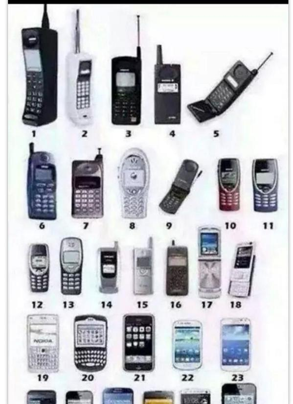 Which one was your first cell phone?