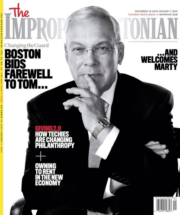 RIP, Mr. Mayor. Thomas Menino gave his life to the city for decades and made an impact that will last even longer http://t.co/txfQQBwEOb