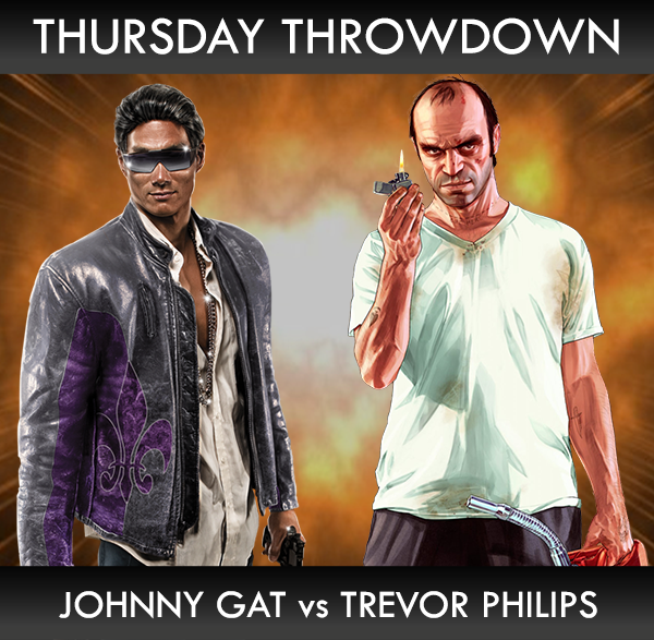 Gamestop On Twitter Thursdaythrowdown Johnny Gat Or Trevor
