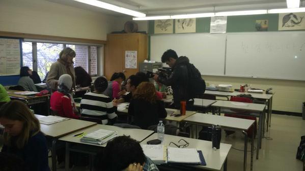 Yorkdale adult learning center, men molesting girl