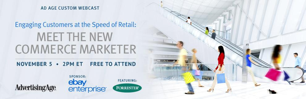 Learn about new commerce marketer by joining this free webcast w/ eBay & Forrester Research http://t.co/0ynMSoh7QT http://t.co/9REmtoF42f