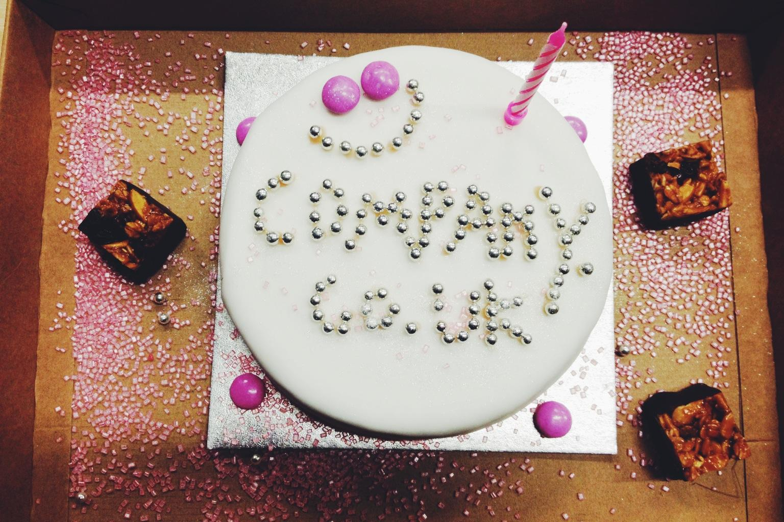 To celebrate @deciem's 1st birthday we've produced this cake of dreams #deciem 🎈🎁🎂 http://t.co/FkMFGEpoz5